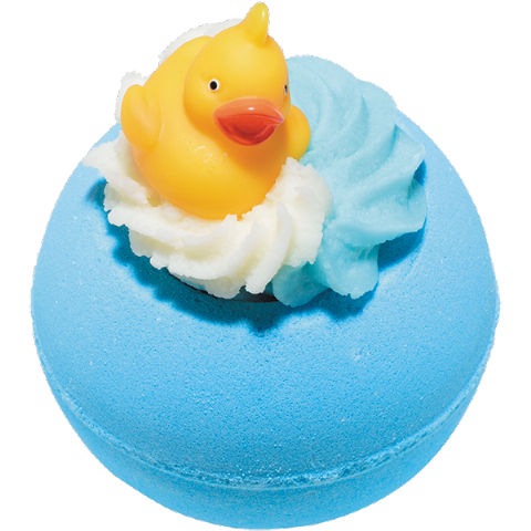 Pool Party Bath Bomb With Toy Duck